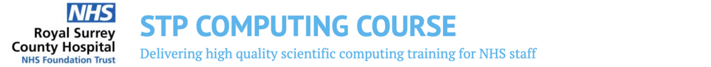 STP Computing Course